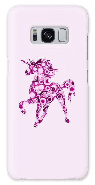 Pink Unicorn - Animal Art Galaxy Case