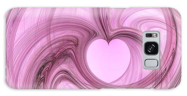 Pink Valentine Galaxy Case