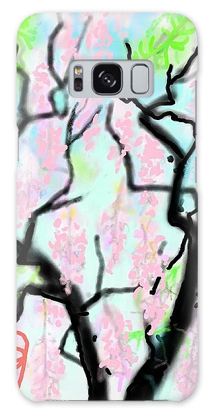 Pink Wisteria Galaxy Case