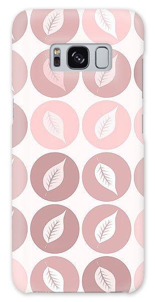Autumn Galaxy S8 Case - Pinkish Leaves by Gaspar Avila