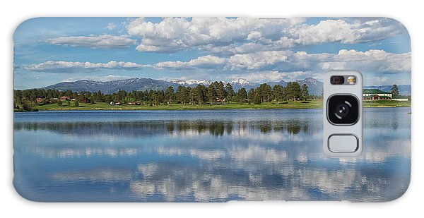 Pinon Lake Reflections Galaxy Case