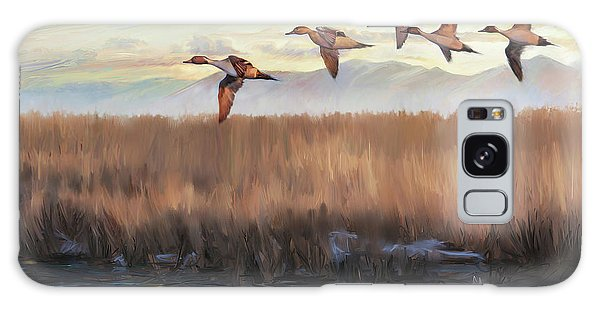 Pintail Fly By Galaxy Case