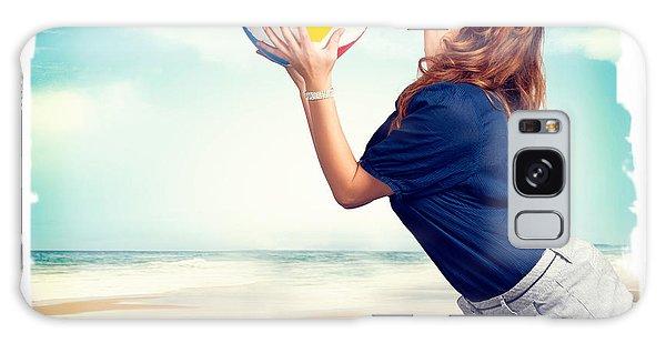 Vivacious Galaxy Case - Pinup Beach Fun by Jorgo Photography - Wall Art Gallery
