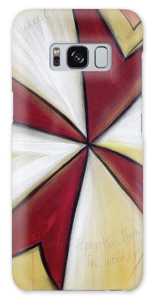 Pinwheel Heartwheel Galaxy Case