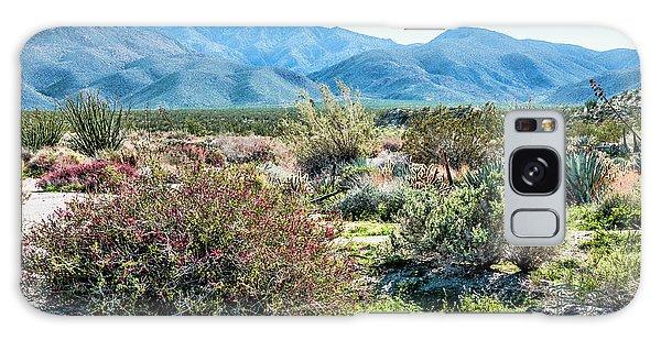 Pinyon Mtns Desert View Galaxy Case by Daniel Hebard