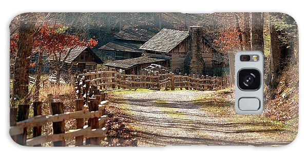 Pioneer Farm Galaxy Case by Brenda Bostic