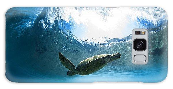 Turtle Galaxy Case - Pipe Turtle Glide by Sean Davey
