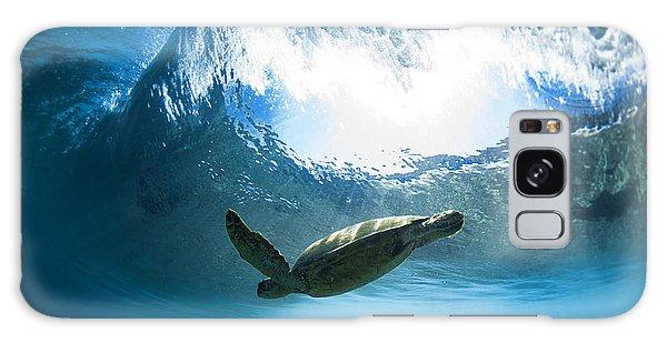 Pipe Turtle Glide Galaxy Case