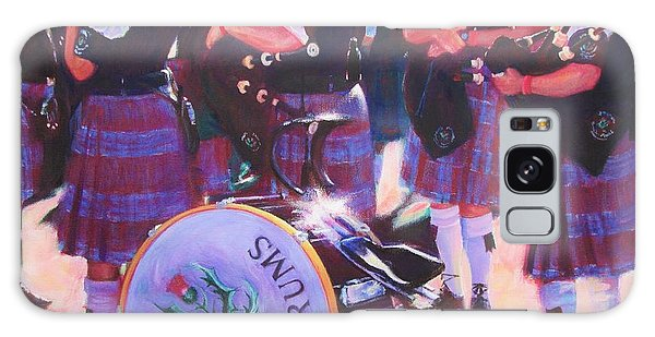 Pipes And Drums Galaxy Case