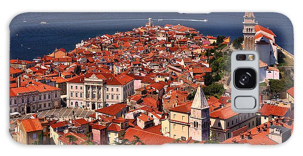 Piran From The Castle Wall Galaxy Case
