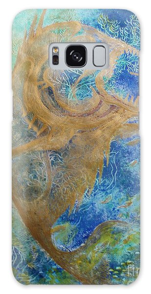 Piranha Water Galaxy Case