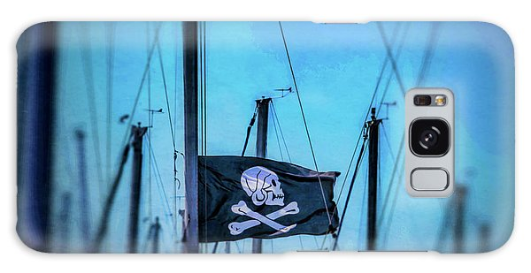 Sly Galaxy Case - Pirate Flag Among Masts by Garry Gay