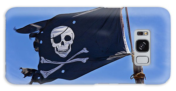 Sly Galaxy Case - Pirate Flag Skull And Cross Bones by Garry Gay