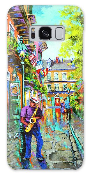 Pirate Sax  Galaxy Case by Dianne Parks