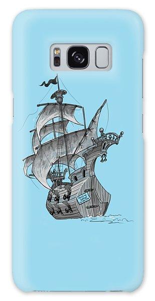 Pirate Ship Galaxy Case