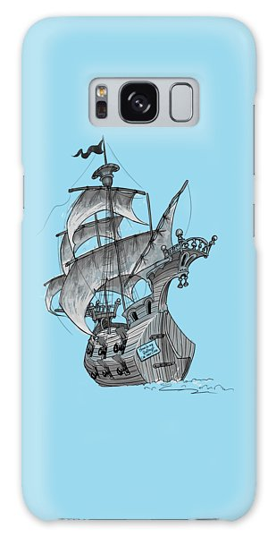 Pirate Ship Galaxy Case