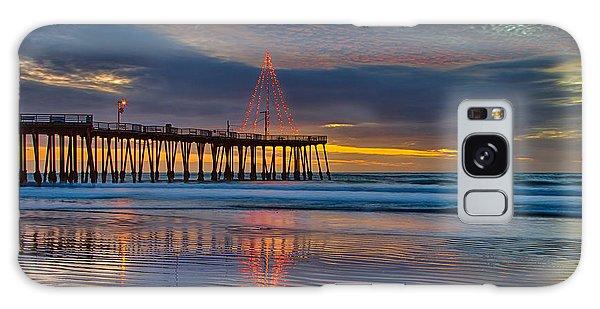 Pismo Beach Christmas Galaxy Case