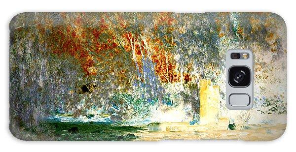 Pissarro's Garden Galaxy Case