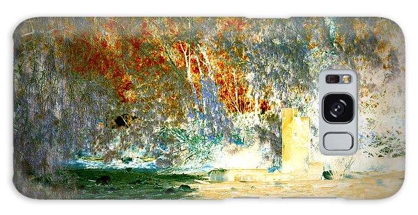 Pissarro's Garden Galaxy Case by Nature Macabre Photography