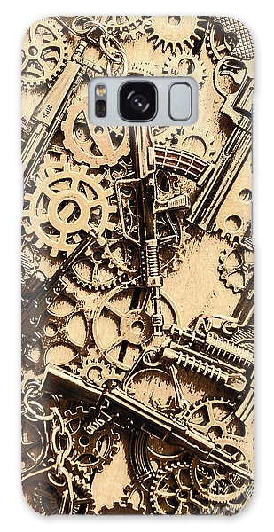 Guns Galaxy Case - Pistol Parts And Rifle Pinions by Jorgo Photography - Wall Art Gallery