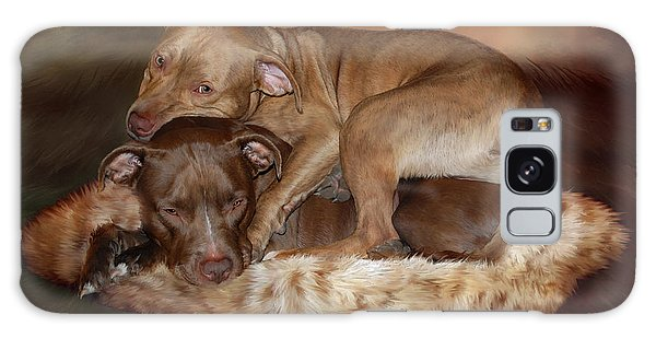 Pitbulls - The Softer Side Galaxy Case