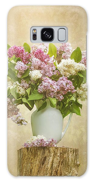 Pitcher Of Lilacs Galaxy Case