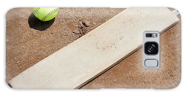 Softball Galaxy Case - Pitchers Mound by Kelley King