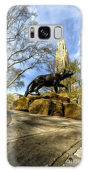 Pitt Panther Cathedral Of Learning Galaxy Case