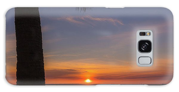 Pitt Street Bridge Palmetto Sunset Galaxy Case