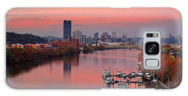 Pittsburgh 31st Street Bridge  Galaxy Case
