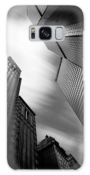 Pittsburgh Architecture 65bw Galaxy Case by Emmanuel Panagiotakis