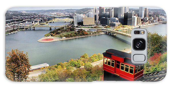 Pittsburgh From Incline Galaxy Case