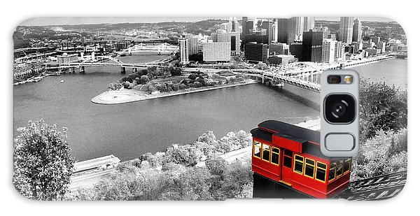 Pittsburgh From The Incline Galaxy Case