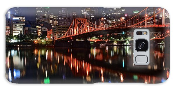 Pittsburgh Lights Galaxy Case