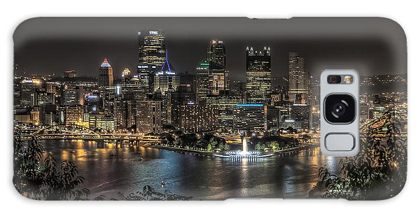 Pittsburgh Skyline Galaxy Case