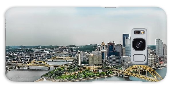 Pittsburgh Skyline Galaxy Case by Dyle   Warren