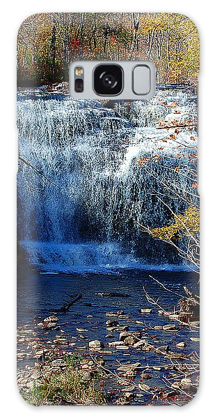 Pixley Falls State Park Galaxy Case by Diane E Berry