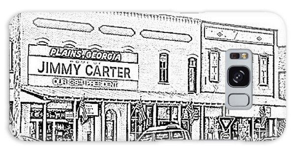 Plains Ga Downtown Galaxy Case