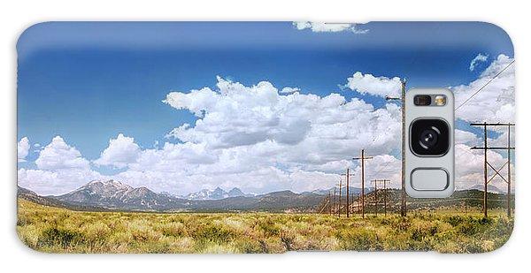 Plains Of The Sierras Galaxy Case