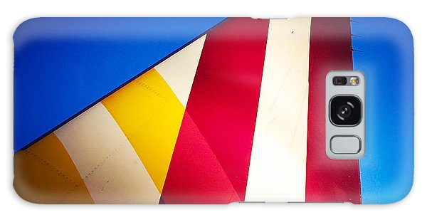 Detail Galaxy Case - Plane Abstract Red Yellow Blue by Matthias Hauser