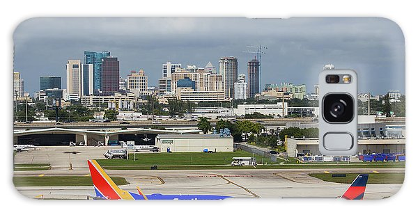 Galaxy Case featuring the photograph Planes By Fort Lauderdale by Dart Humeston