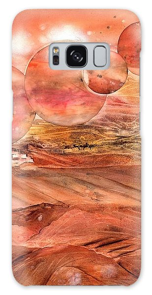 Planet Earth - Save Our Deserts Galaxy Case
