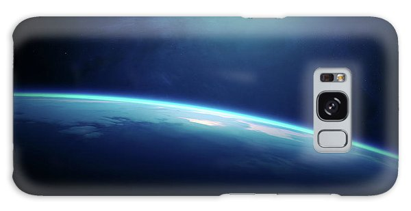 Earth Galaxy Case - Planet Earth Sunrise From Space by Johan Swanepoel