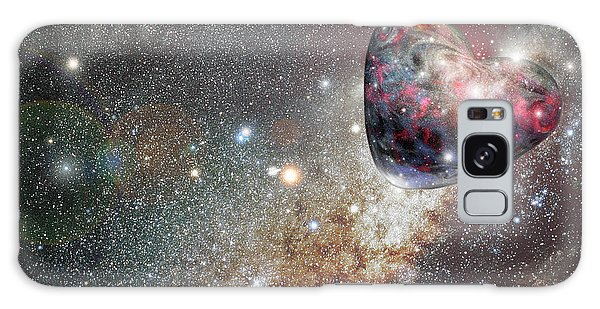 Planet Love Galaxy Case