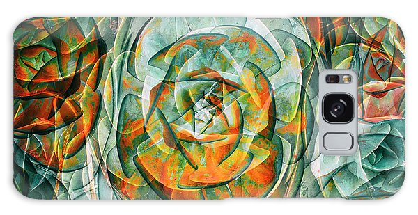 Plant Abstract Galaxy Case by Wayne Sherriff