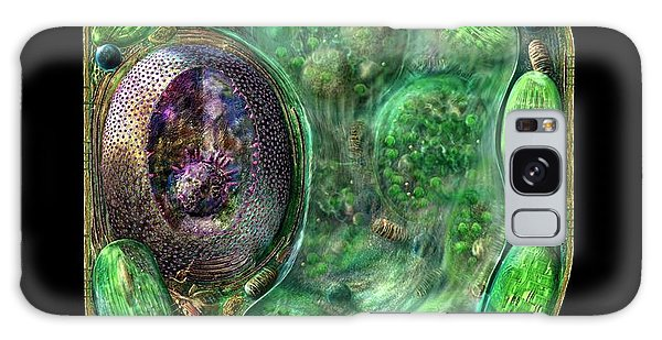 Plant Cell Galaxy Case