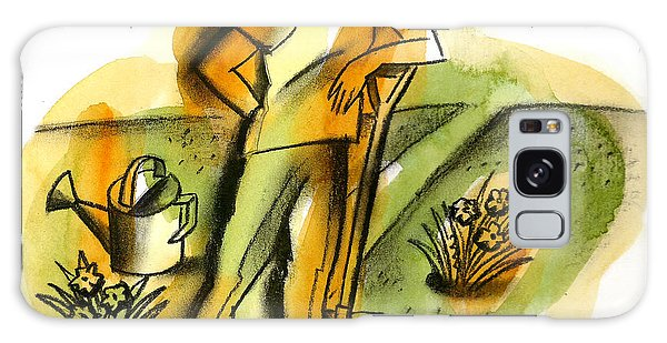 Garden Galaxy Case - Planting by Leon Zernitsky