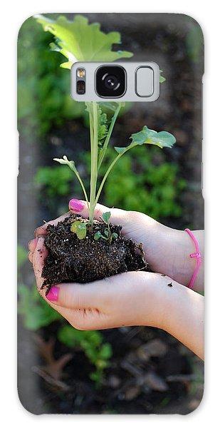 Planting Season Galaxy Case