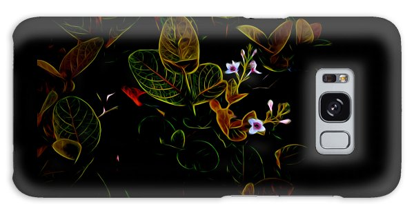 Plants In Abstract 19 Galaxy Case