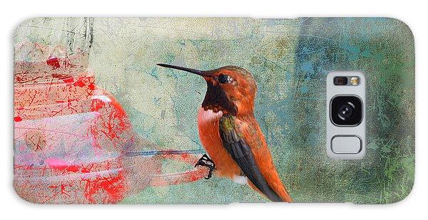Plate 048 - Hummingbird Grunge Series Galaxy Case